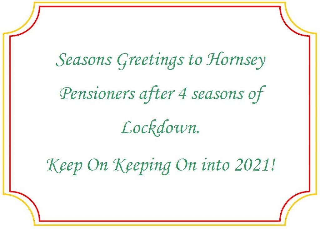 Seasons Greetings, Side 1